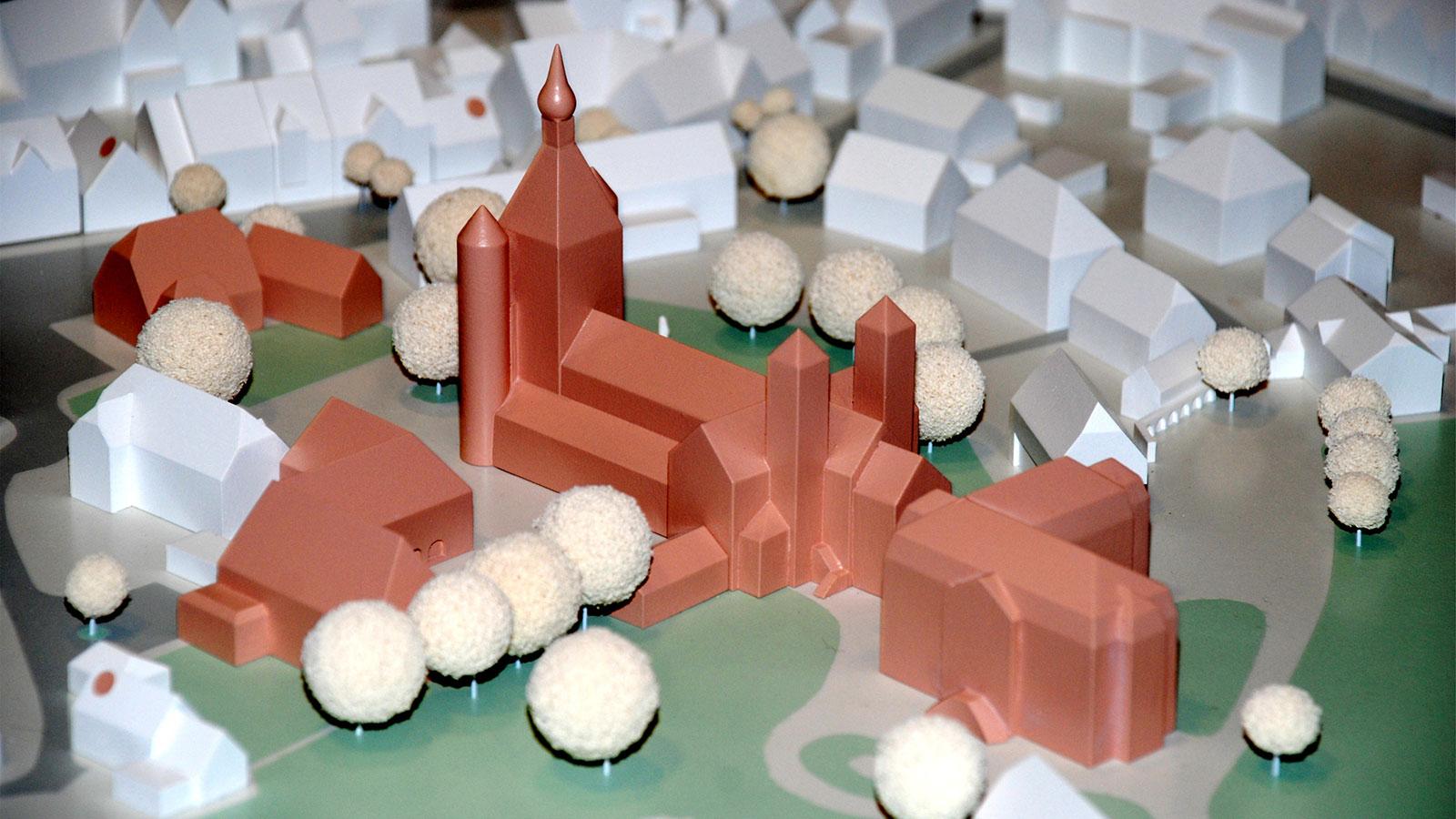 Modell vom Ortskern Freckenhorst