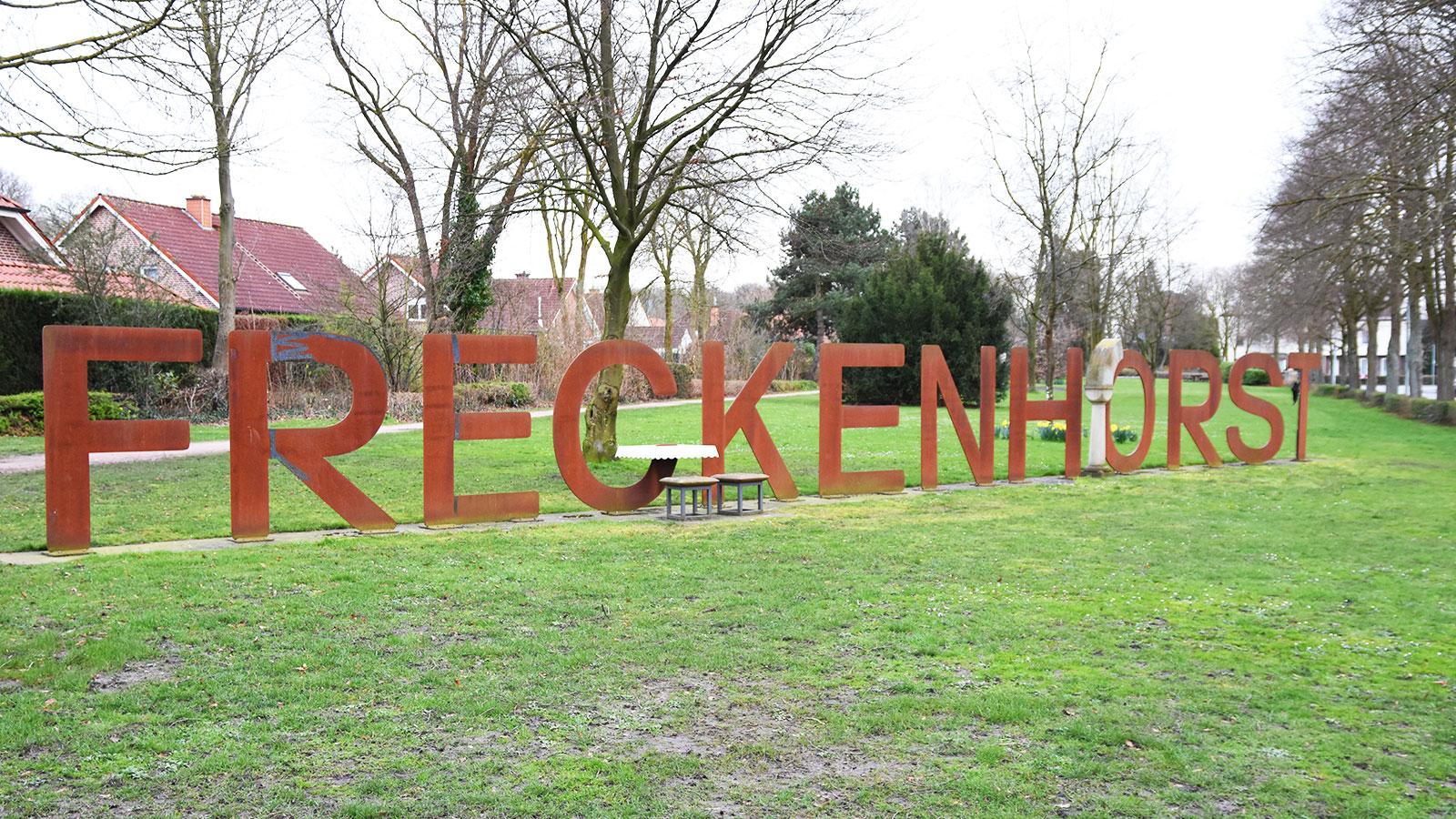 Schriftzug Freckenhorst