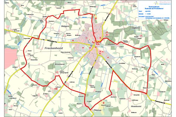 PDF Karte Kirchspielroute Freckenhorst